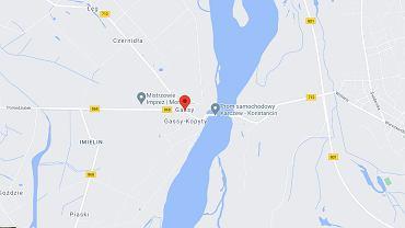 W miejscowości Gassy strażacy wyłowili ciało