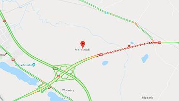 Wypadek na DK 16 w Marciniakach (zdjęcie ilustracyjne)