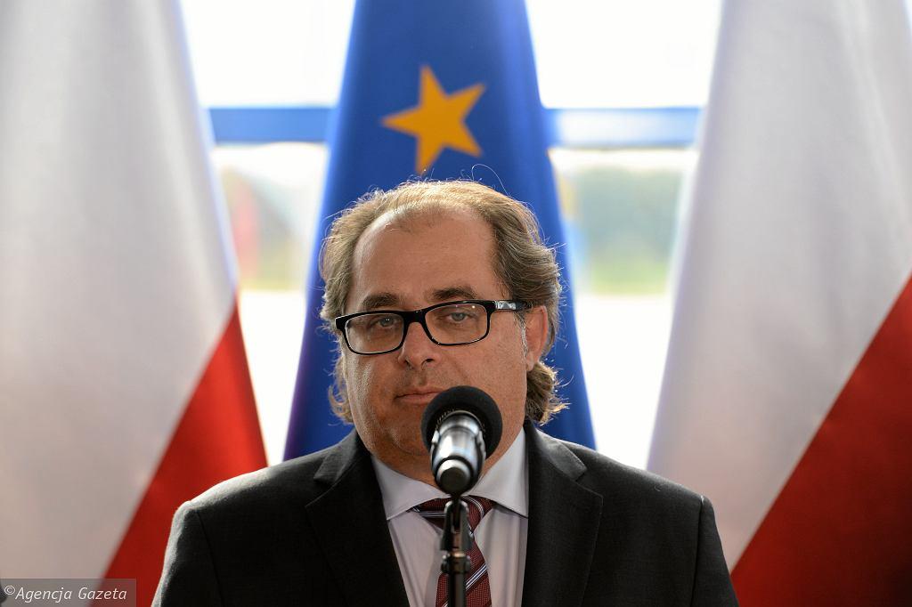 Minister Marek Gróbarczyk