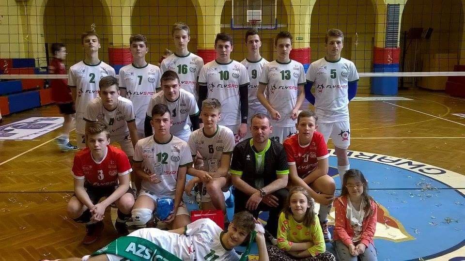 Drużyna młodzików AZS 2020 awansowała do finału mistrzostw Polski