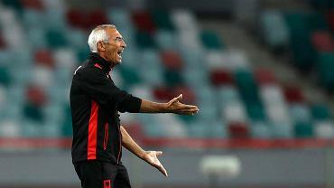 Trener Albanii grzmi po skandalu na trybunach.