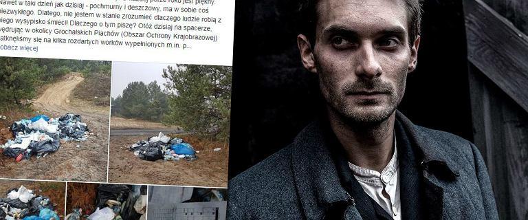 Góra śmieci trafiła z planu serialu o Piłsudskim do parku narodowego