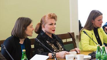 Georgette Mosbacher mówiła dziś w Sejmie o m.in. wizach