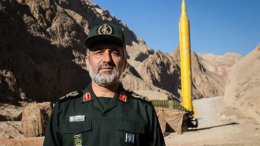 Amir Ali Hajizadeh poinformował, że bazy USA są w zasięgu irańskich rakiet