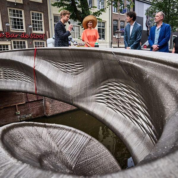 W Holandii otwarto most wydrukowany w drukarce 3D