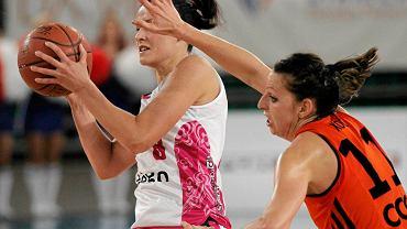 Martyna Koc w barwach CCC w meczu z Artego