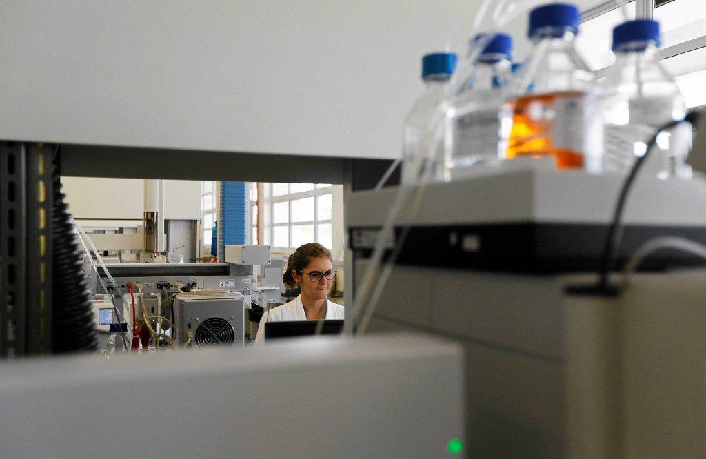 Kontrola dopingowa w laboratorium w Brazylii