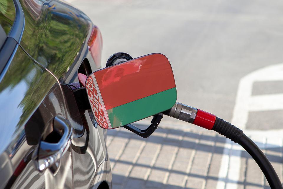 Białoruś, stacja benzynowa