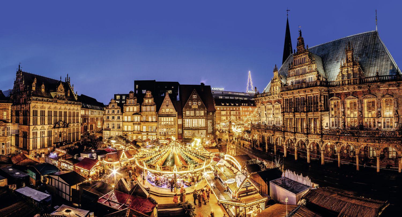 Brema (fot. bremen.eu/tourism/christmas-market-and-schlachte-magic)