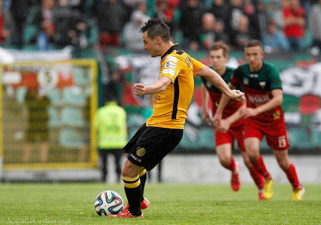 Grzegorz Goncerz strzelił gola w sparingu