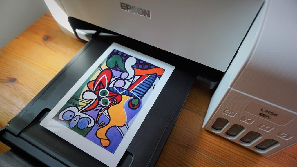 Epson L3156 - drukarka,skaner, kopiarka