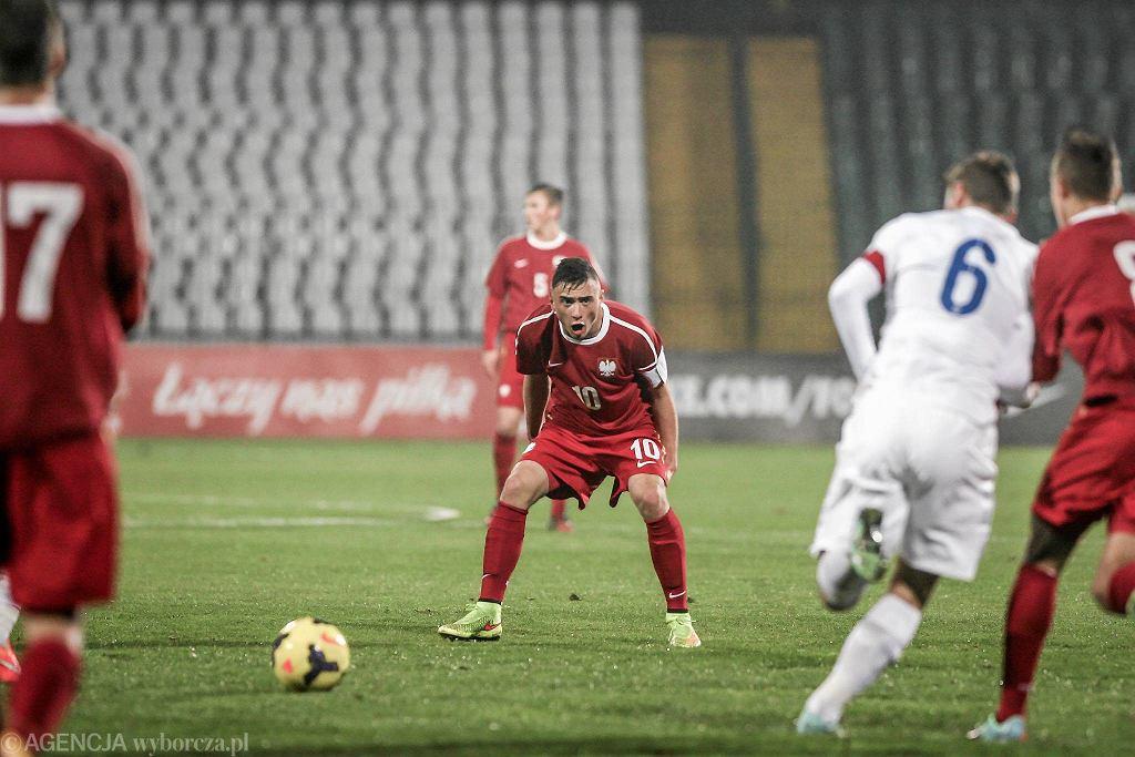 W towarzyskim meczu reprezentacji do lat 18 Polska uległa w Gdańsku Anglii 1:4
