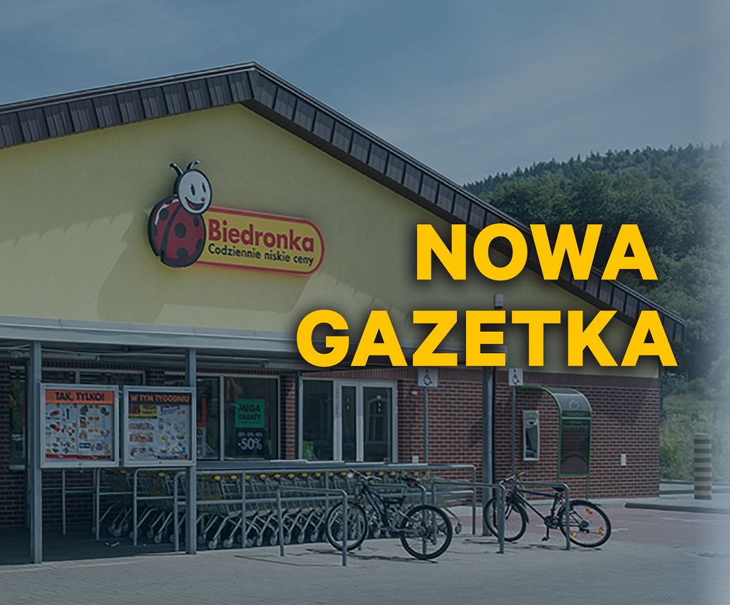 Biedronka - nowa gazetka