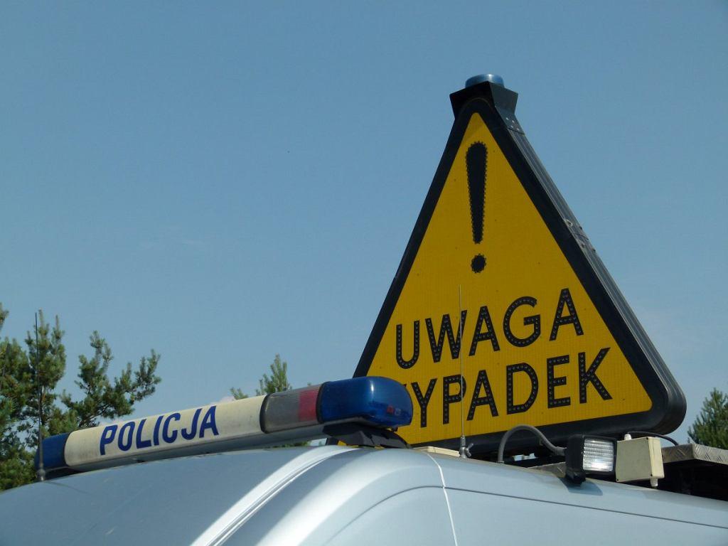 Wypadek (zdjęcie ilustracyjne)