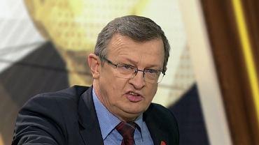 Tadeusz Cymański w 'Kawie na ławę'