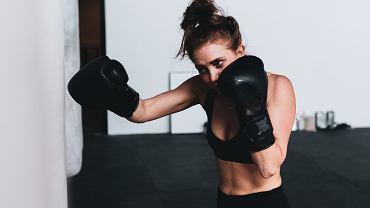 trening boksu w domu