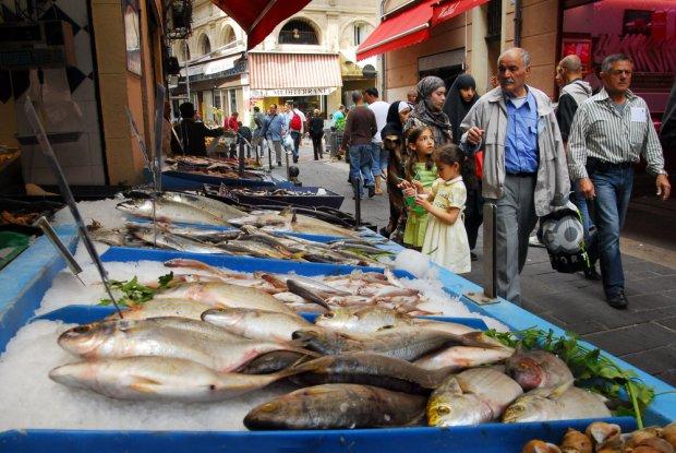 Targ rybny w Marsylii/ Fot. Shutterstock