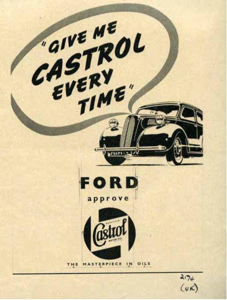 Castrol i Ford - 100 lat współpracy