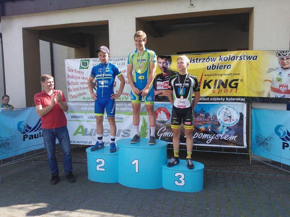 Medaliści mistrzostw Śląska w kolarstwie