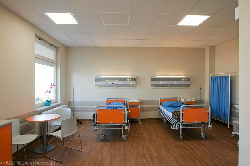 Świńska grypa w Szpitalu Jurasza w Bydgoszczy