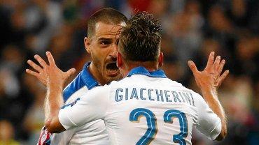 Mecz Włochy-Belgia