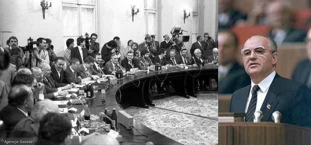 Obrady Okrągłego Stołu/Michaił Gorbaczow