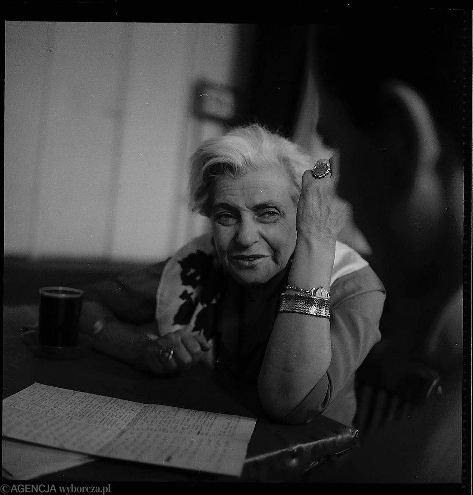 Ida Kamińska, aktorka, reżyserka, dyrektorka Teatru Żydowskiego
