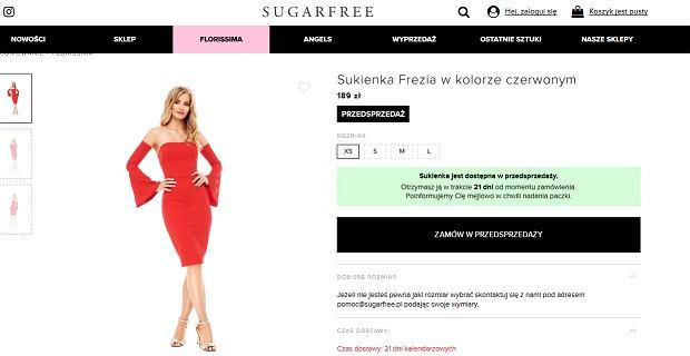 sukienka Sugarfree