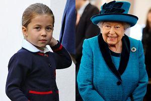 Księżniczka Charlotte ma takie samo hobby jak królowa Elżbieta II. Są coraz bardziej do siebie podobne