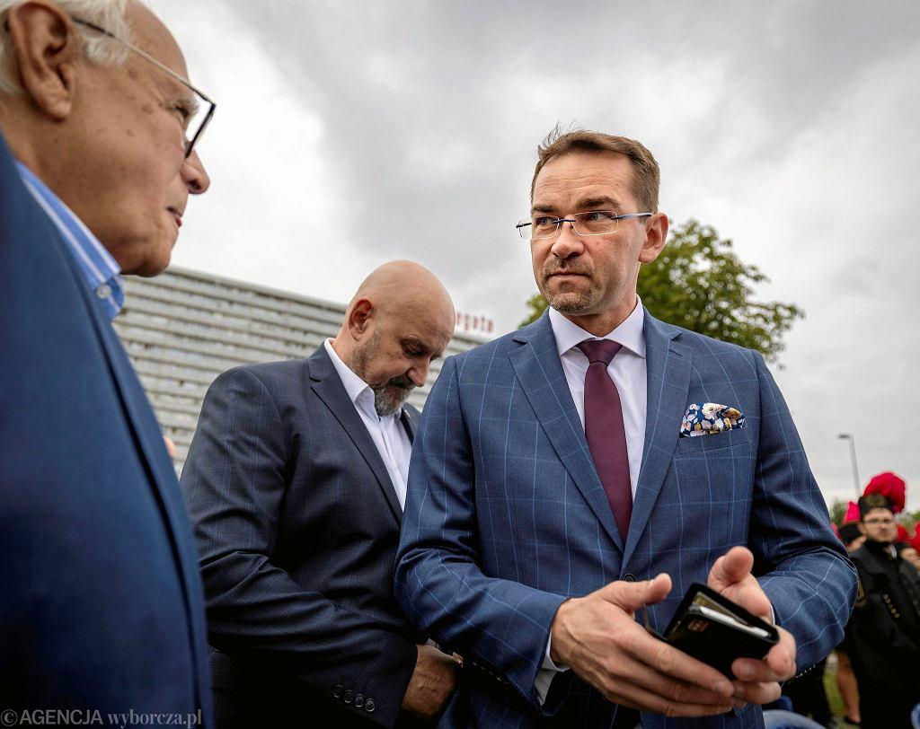 Aleja Gwiazd Siatkówki na 50-lecie Spodka. Mistrzowie świata odcisnęli dłonie pod Spodkiem