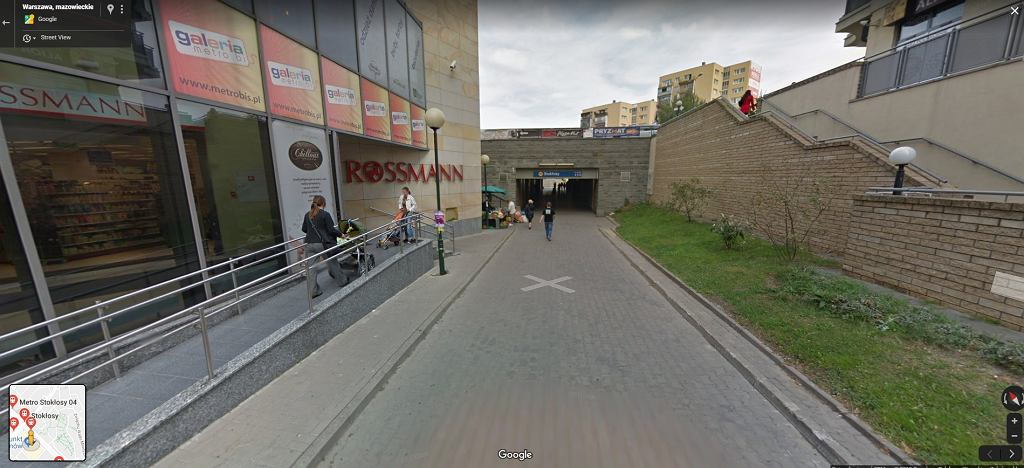 Metro Stokłosy, Warszawa