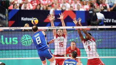 Mistrzostwa Europy w siatkówce, mecz o trzecie miejsce: Polska - Serbia. Katowice, 18 stycznia 2021