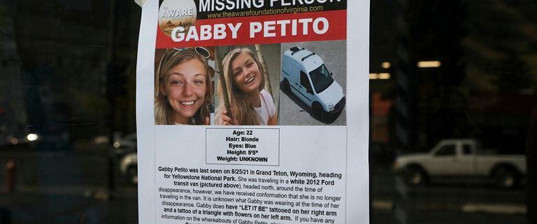 Sprawa Gabby Petito. FBI informuje o odnalezieniu ciała. Policja poszukuje jej partnera