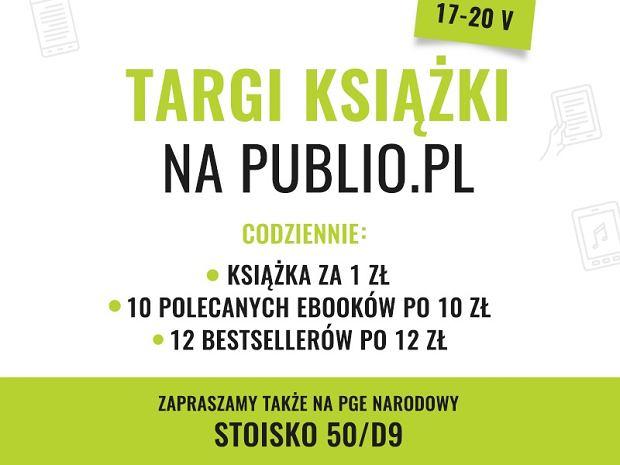 Księgarnia Publio.pl zaprasza na promocje z okazji Warszawskich Targów Książki