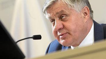 Konferencja prasowa ministra rolnictwa i rozwoju wsi Krzysztof Jurgiel
