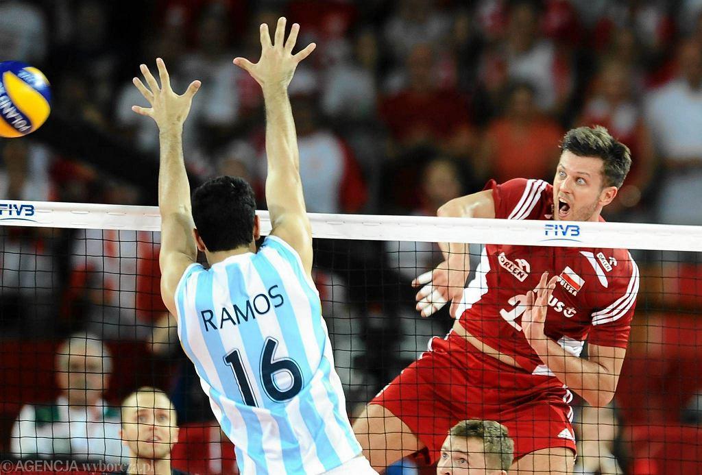 MŚ siatkarzy. Polska - Argentyna 3:0