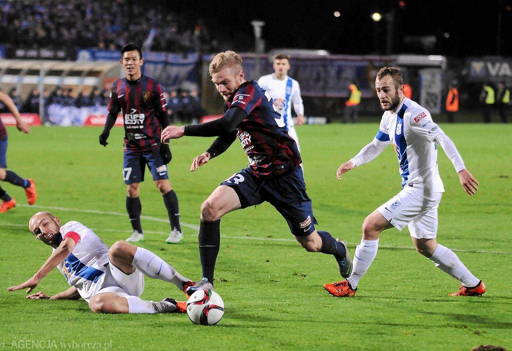 Pogoń Szczecin - Lech Poznań 0:2. Łukasz Trałka i Gergo Lovrencsics