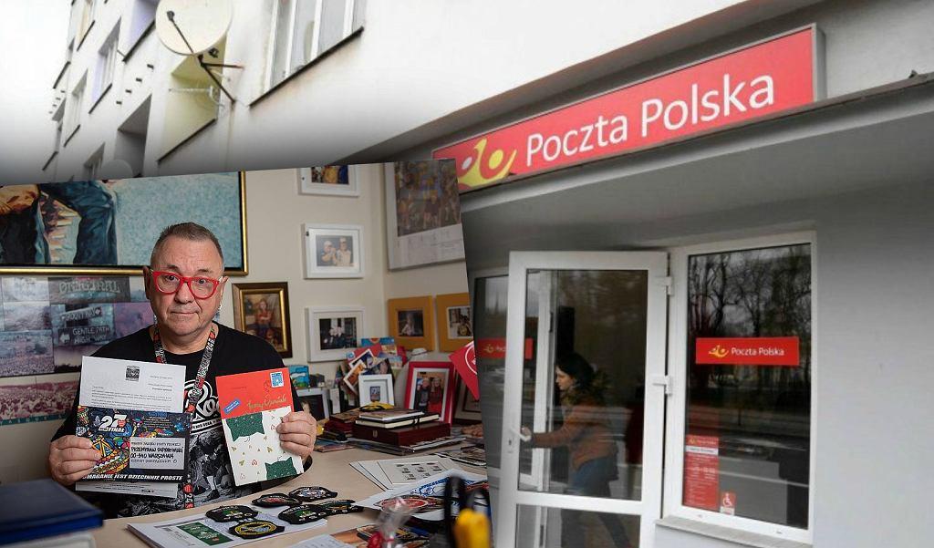 Jerzy Owsiak krytykuje Pocztę Polską