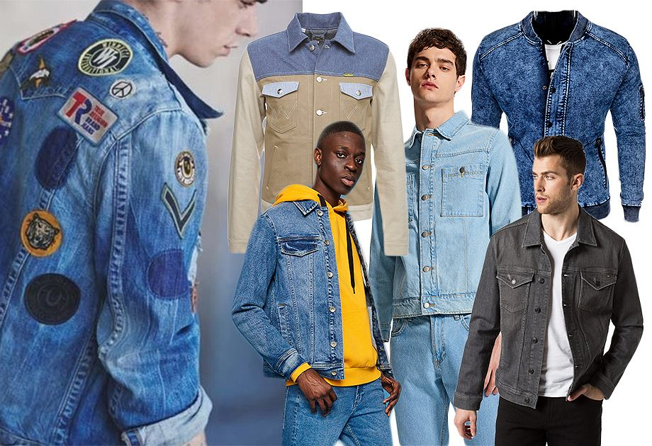 Najmodniejsze modele kurtek jeansowych dla mężczyzn