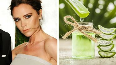 Victoria Beckham sięga po sok z aloesu regularnie.