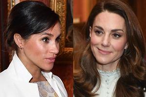 Księżna Meghan i księżna Kate
