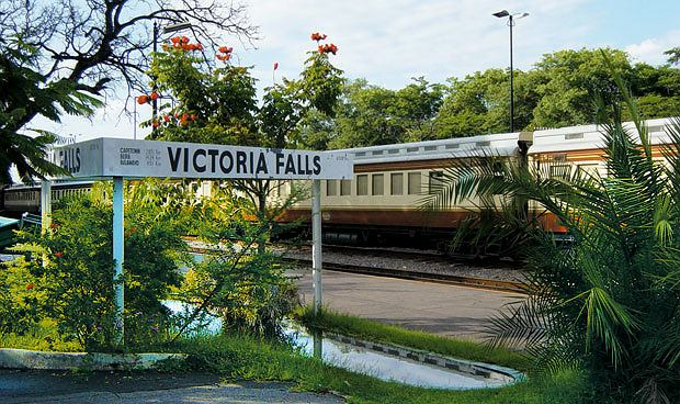 podróże, afryka, Podróż pociągiem po Afryce, Stacja Victoria Falls