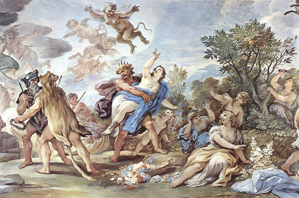 Rzymska bogini Prozerpina - jest utożsamiana z grecką Persefoną.