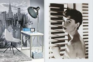 Filmowe dodatki do mieszkania - wnętrza z motywem gwiazd Hollywood