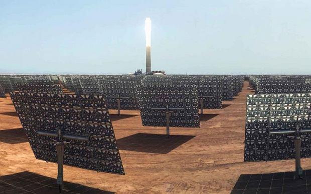 Elektrownia termo-solarna Noor-Ouarzazate w Maroku