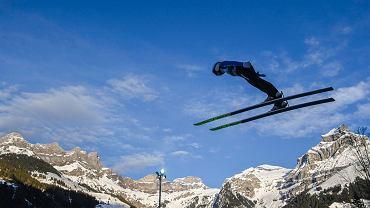 Nietypowa kontuzja legendy skoków narciarskich. Wreszcie był w świetnej formie