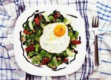 Sałata z jajem - ugotuj