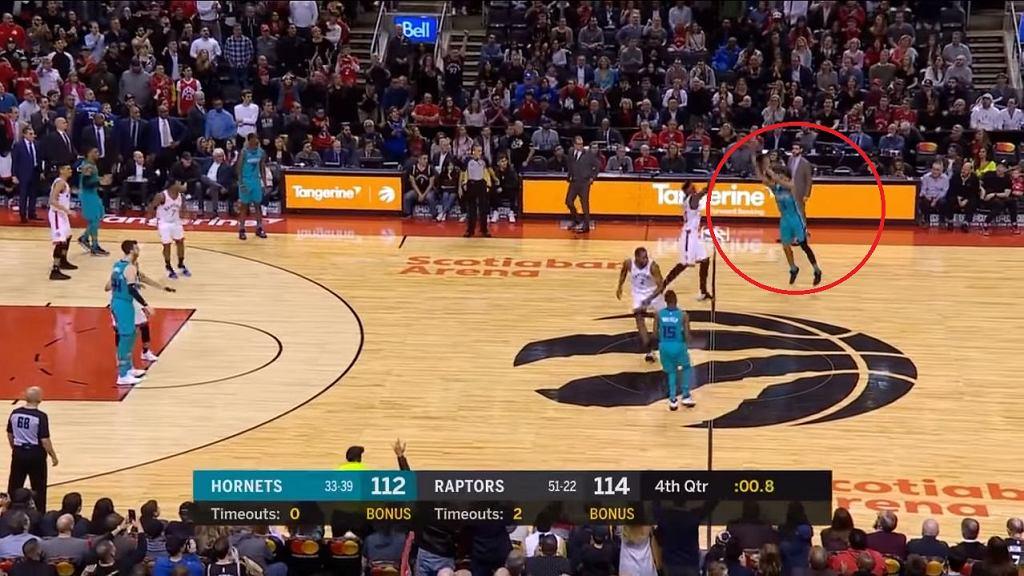 NBA. Niesamowity rzut Jeremy'ego Lamba dał zwycięstwo Charlotte Hornets