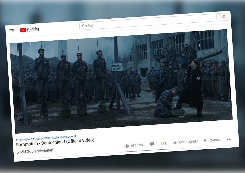 Kontrowersje wokół teledysku Rammsteina. 'Trywializacja Holokaustu'