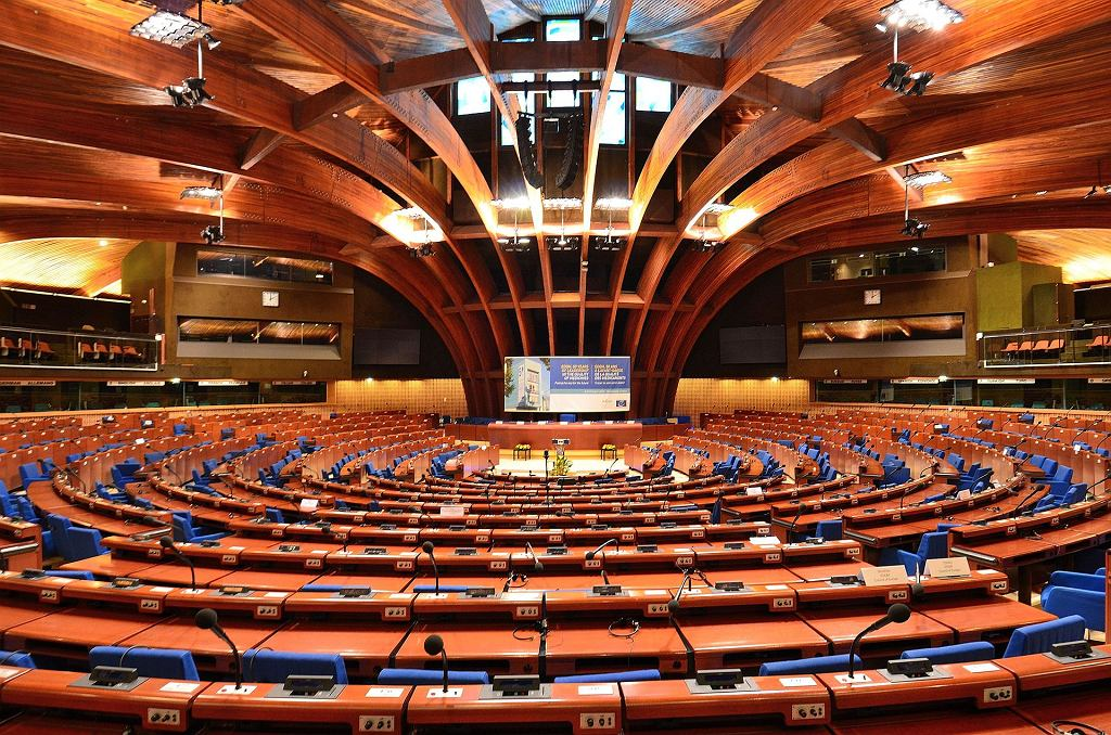 Sala obrad plenarnych Rady